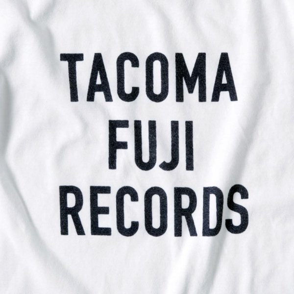 TACOMA FUJI RECORDS LETTER PRINT designed by Jerry UKAI