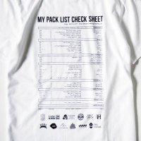 PACK LIST 2017 designed by Jerry UKAI