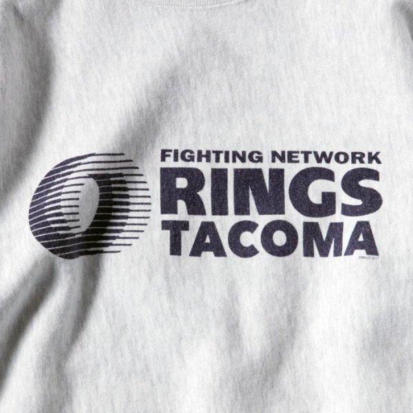 RINGS TACOMA SWEAT (12oz) re-designed by Jerry UKAI