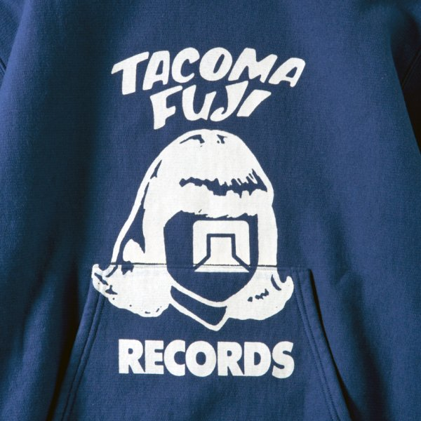 TACOMA FUJI RECORDS LOGO HOODIE designed by Tomoo Gokita