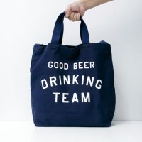 GOOD BEER DRINKING TEAM TOTE designed by Shuntaro Watanabe