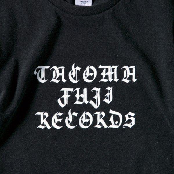 TACOMA FUJI HAND LETTERING Tee designed by Letterboy