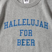 HALLELUJAH FOR BEER designed by Shuntaro Watanabe