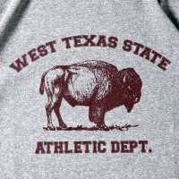 WEST TEXAS STATE ATHLETIC DEPT. designed by MATT LEINES