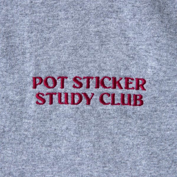 POT STICKER STUDY CLUB (embroidery ver.) designed by Jerry UKAI