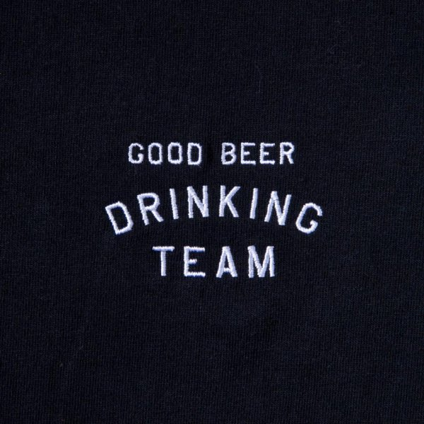 GOOD BEER DRINKING TEAM (embroidery ver.) designed by Shuntaro Watanabe