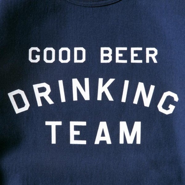 GOOD BEER DRINKING TEAM SWEAT  designed by Shuntaro Watanabe