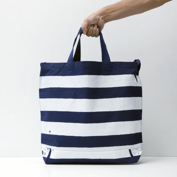 THE STRIPED TOTE designed by Jerry UKAI