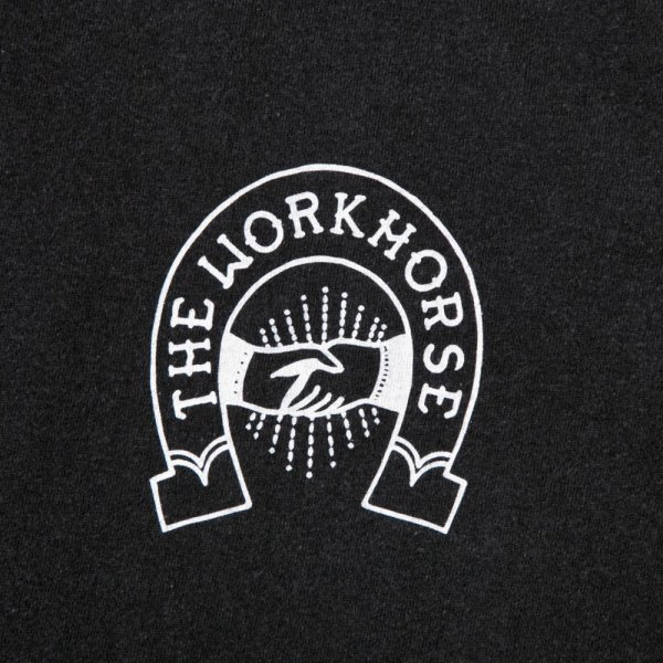 THE WORKHORSE LOGO SHIRT designed by Jerry UKAI