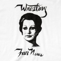 WRESTLING FAN NEWS designed by Tomoo Gokita