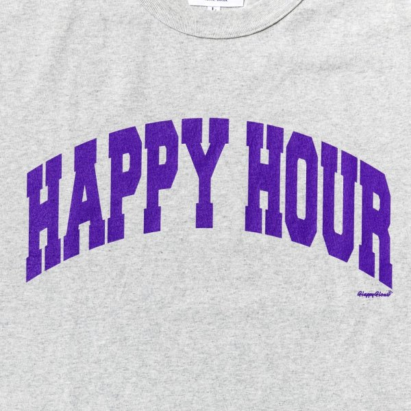 HAPPY HOUR COLLEGE LOGO T SHIRT designed by Shuntaro Watanabe