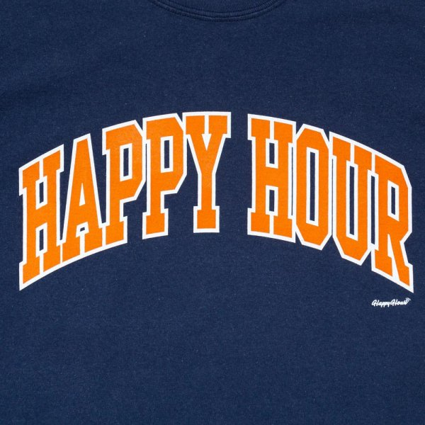 HAPPY HOUR COLLEGE LOGO LS SHIRT designed by Shuntaro Watanabe