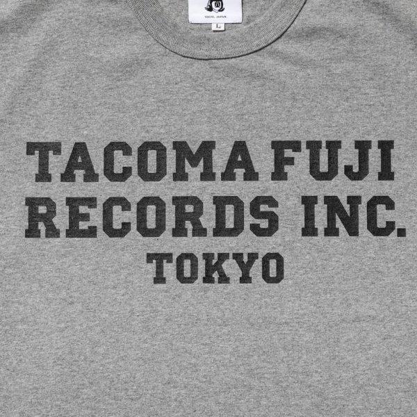 TACOMA FUJI RECORDS, INC. Tee designed by Shuntaro Watanabe