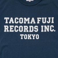 TACOMA FUJI RECORDS, INC. Tee designed by Shuntaro Watanabe