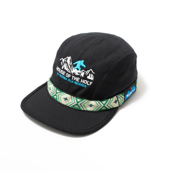 BIGFOOT SURVEY PROJECT  (KAVU STRAP CAP ver.) designed by Jerry UKAI