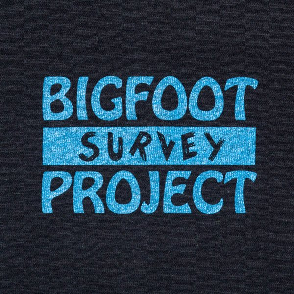 BIGFOOT SURVEY PROJECT T shirt (B) designed by Jerry UKAI