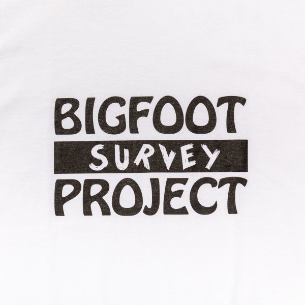 BIGFOOT SURVEY PROJECT T shirt (A) designed by Jerry UKAI