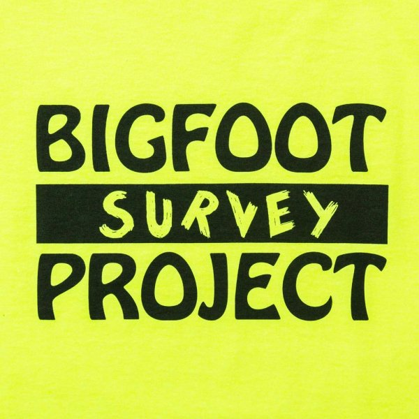 BIGFOOT SURVEY PROJECT T shirt (A) designed by Jerry UKAI