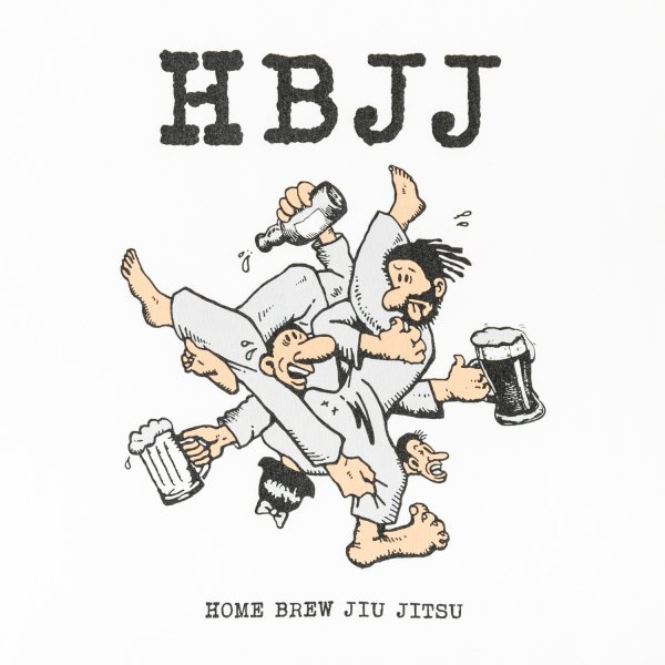 HBJJ (HOME BREW JIU JITSU) designed by Jerry UKAI