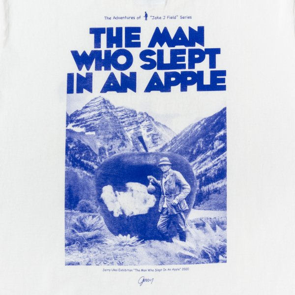 THE MAN WHO SLEPT IN AN APPLE designed by Jerry UKAI