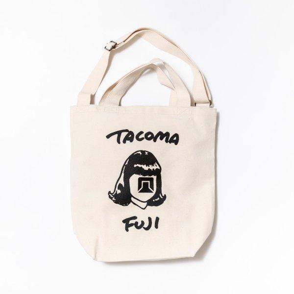 TACOMA FUJI HANDWRITING LOGO TOTE