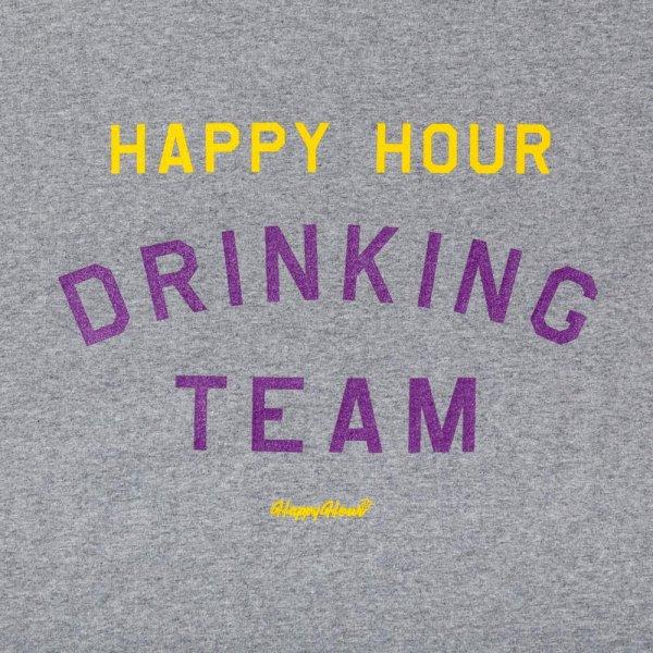 HAPPY HOUR DRINKING TEAM LS shirt designed by Shuntaro Watanabe
