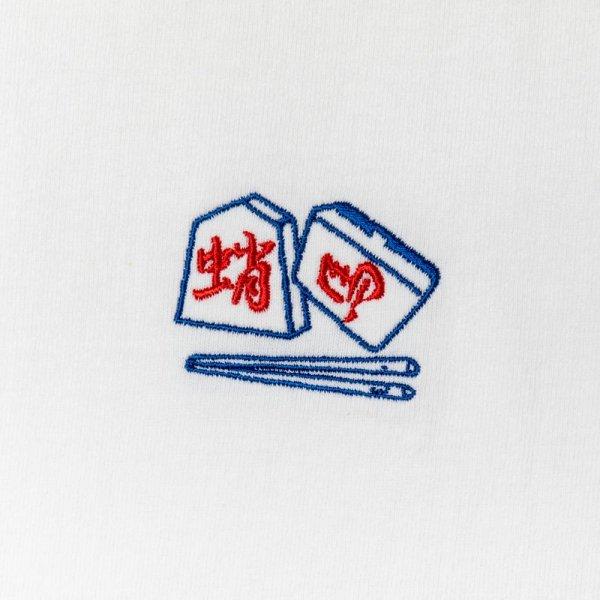 CHOPSTICKS CRISIS /PROOF OF THE MAN  LS shirt designed by Hiroki Niwa (KAKUOZAN LARDER)