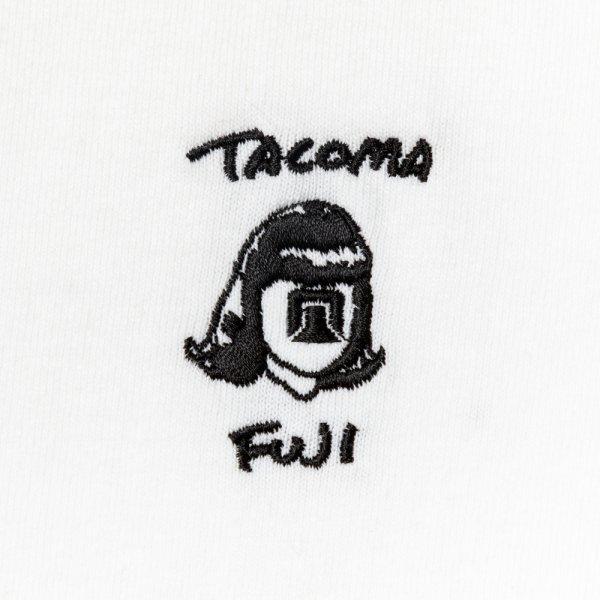 TACOMA FUJI HANDWRITING LOGO embroidery LS shirt