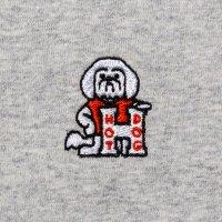HOT DOG LS embroidery shirt designed by Hiroshi Iguchi