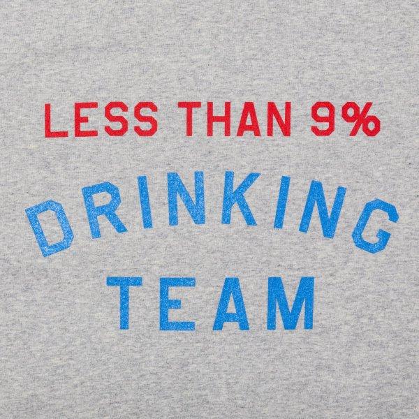 LESS THAN 9% DRINKING TEAM LS shirt designed by Shuntaro Watanabe