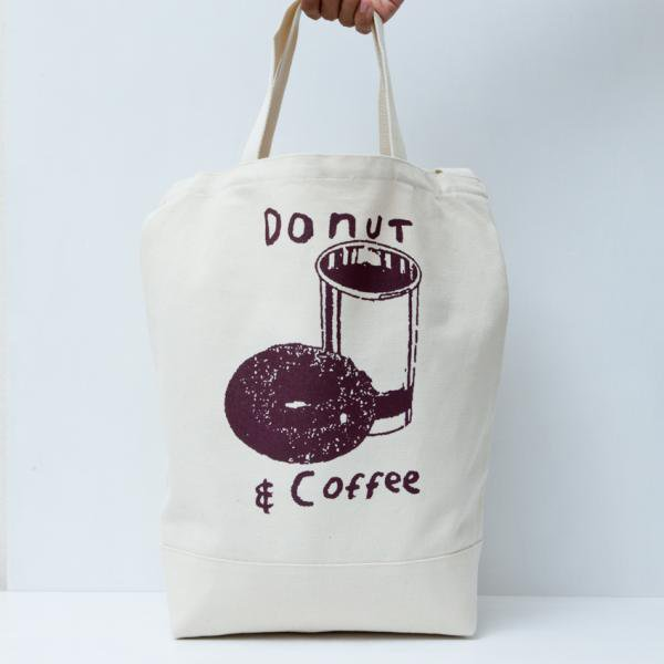 DONUT & COFFEE TOTE BAG designed by Tomoo Gokita