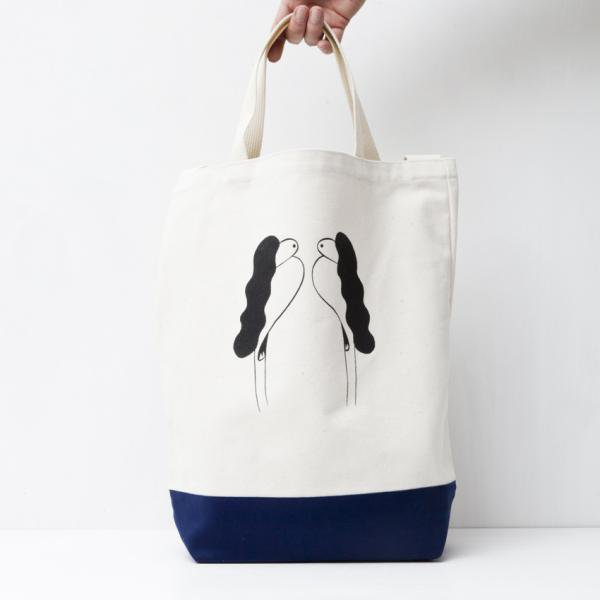 SupriseGreeting TOTE BAG designed by Tomoo Gokita