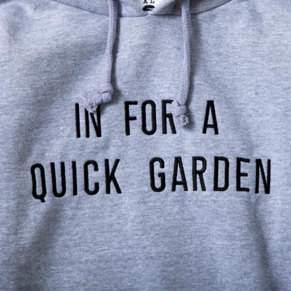 In for a quick garden designed by Jerry UKAI (12.4oz PARKA)