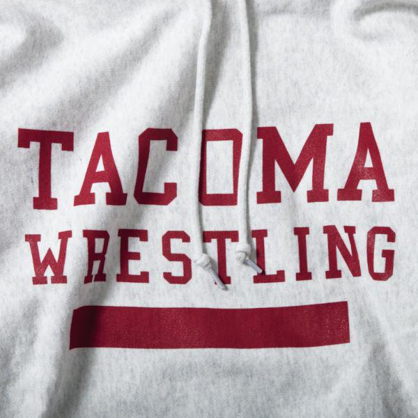 TACOMA WRESTLING designed by Jerry UKAI (12oz PARKA)