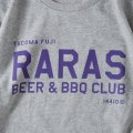 RARAS BEER & BBQ CLUB designed by Jerry UKAI and Tacoma Fuji Records