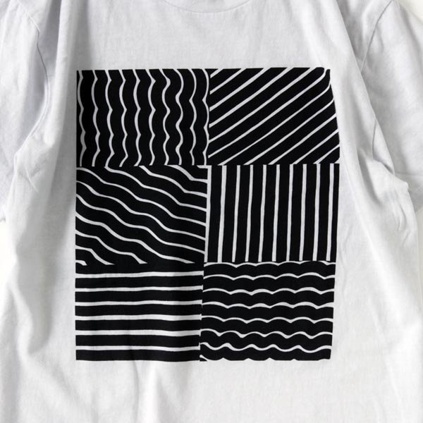 CUTE : GEOMETRIC Tee designed by Tomoo Gokita