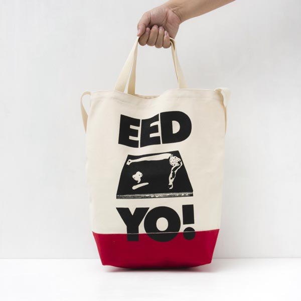 EED YO! TOTE BAG designed by Tomoo Gokita