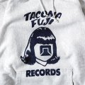 TACOMA FUJI RECORDS LOGO Hoodie (12oz) designed by Tomoo Gokita
