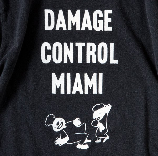 DAMAGE CONTROL MIAMI designed by Tomoo Gokita