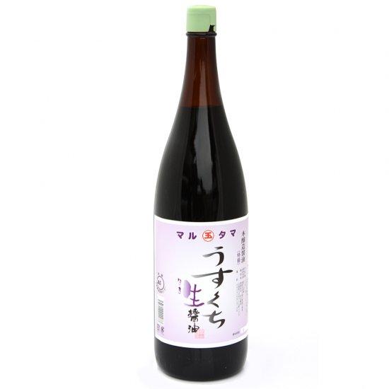 うすくち生醤油 1.8L