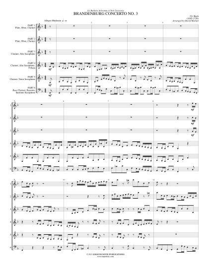 協奏曲 ブランデンブルク
