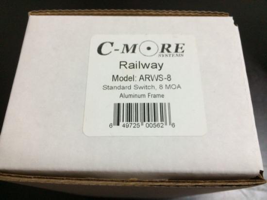 K様お取り置き 実物 C-MORE ARWS-8 Railway Red Dot Sight Aluminum Body Standard Switch