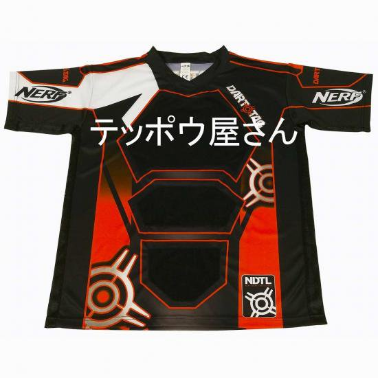 Nerf l ナーフ l エアガン l Nerf Dart Tag Official Competition Jersey (Large Orange)