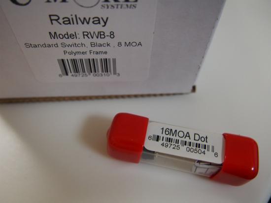 お得なセット 実物 C-MORE RAILWAY 8moa + ドットモジュール16moa