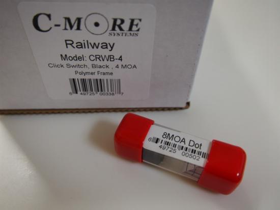 お得なセット 実物 C-MORE RAILWAY 4moa クリックスイッチ+ ドットモジュール8moa