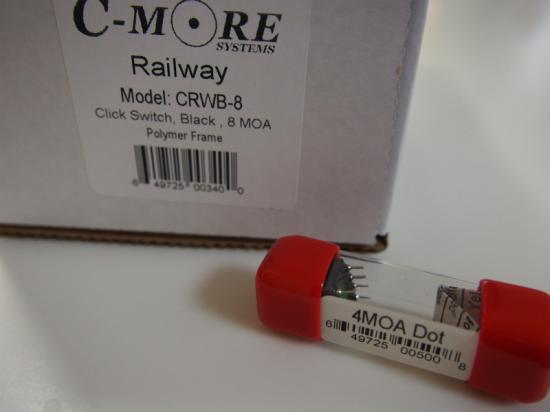 お得なセット 実物 C-MORE RAILWAY 8moa クリックスイッチ + ドットモジュール4moa