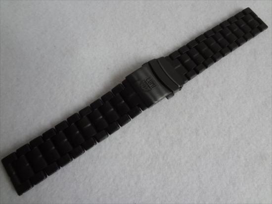 ルミノックスLUMINOX純正バンド3050,3080等用カーボンベルト23mm