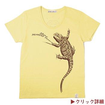 フトアゴヒゲトカゲTシャツ(ツク之助・コラボシリーズ第1弾)