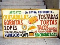 タコス 屋台 看板 [アントヒートス] メキシコ料理