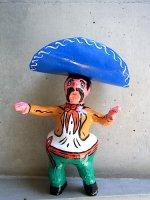 メキシコ パペルマチョ フダス   [パンチート] 張り子人形